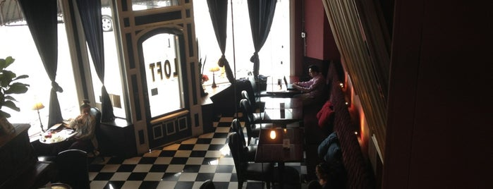 Loft Cafe is one of Los Angeles.