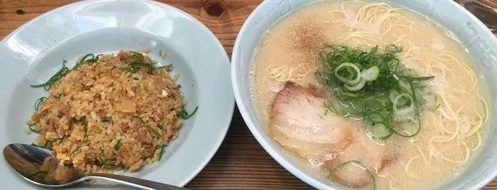 博多濃麻呂 東比恵店 is one of らめーん(Ramen).
