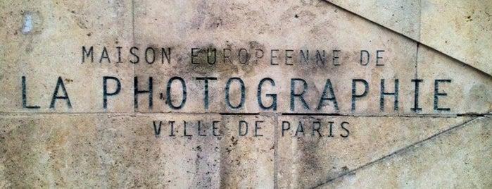 Maison Européenne de la Photographie is one of Paris.