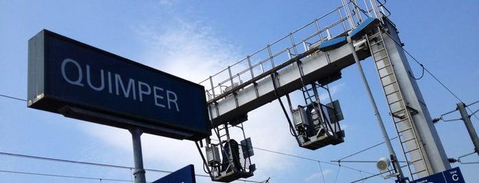 Gare SNCF de Quimper is one of Quimper.