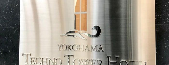 横浜テクノタワーホテル is one of 高層ビル@首都圏.