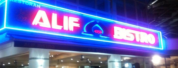 Alif Bistro is one of makan @ KL #16.
