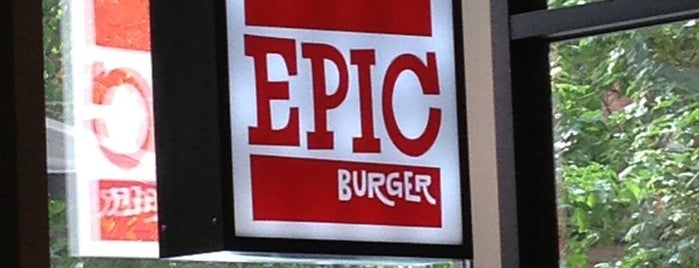 Epic Burger is one of River North.