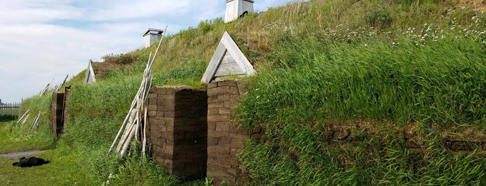 L'Anse aux Meadows National Historic Site is one of UNESCO World Heritage Sites.