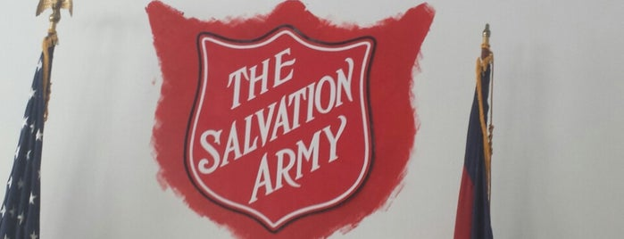 The Salvation Army is one of Favorites.