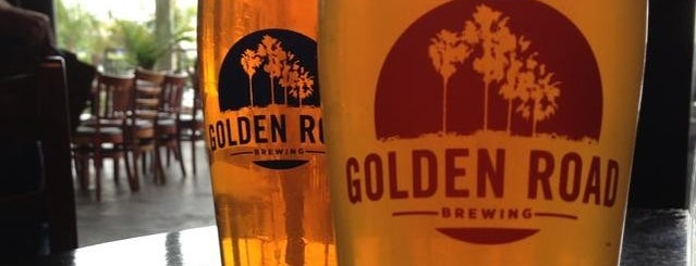 Golden Road Brewing is one of 15 Great Spots for a Summer Beer in Los Angeles.