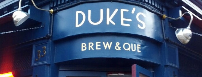 Duke's Brew & Que is one of London's Best Bars - 2013.