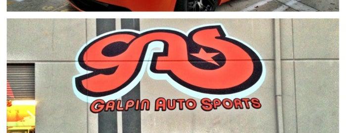 Galpin Auto Sports (GAS) is one of Nikki Kreuzer's Offbeat L.A..