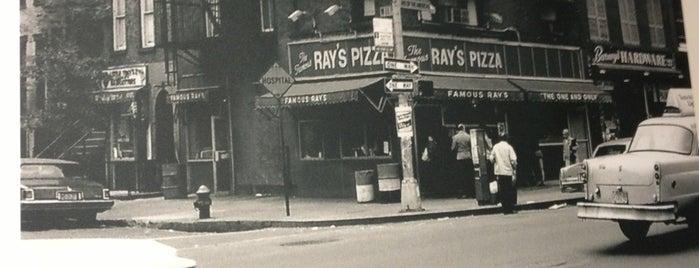 Famous Roio's Pizza is one of NYC ONCE AGAIN.