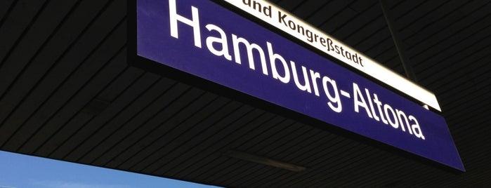 Bahnhof Hamburg-Altona is one of Bahnhöfe Deutschland.