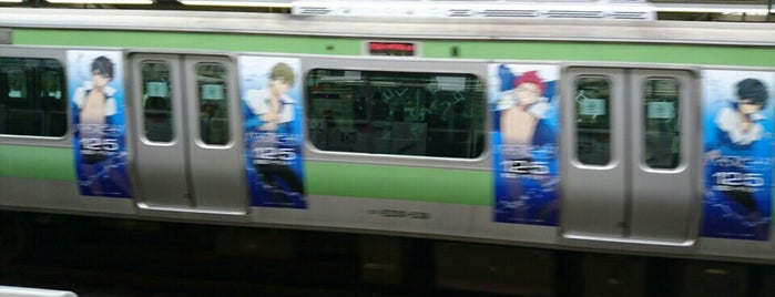 Tabata Station is one of 山手線.