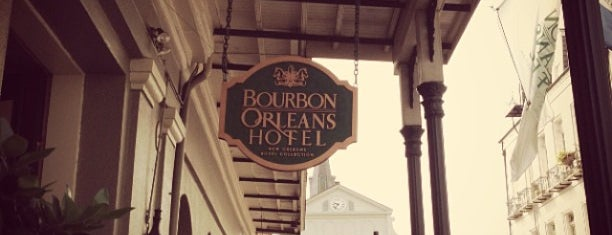 Bourbon Orleans Hotel is one of What we love about New Orleans.