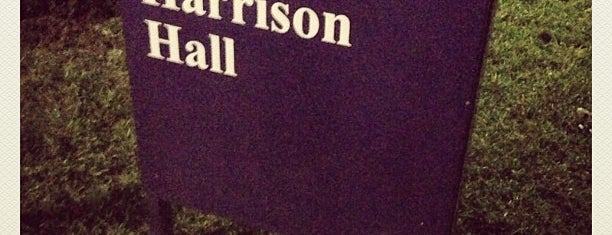 Harrison Hall is one of JMU.