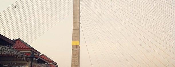 Rama VIII Park is one of ช่างกุญแจประเวศ 087 488 4333.