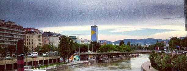 Donaukanal is one of Vienna, Austria.