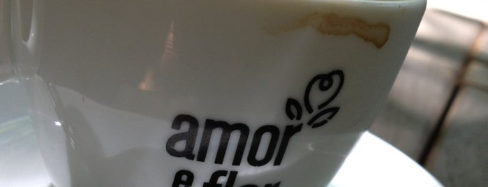 Amor e Flor is one of Coffee & Tea.