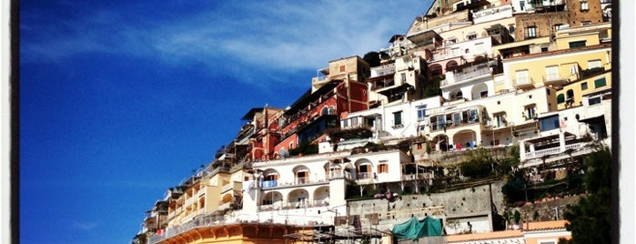 Positano Marina is one of South Italy.