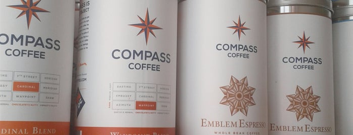Compass Coffee is one of Go-to spots.