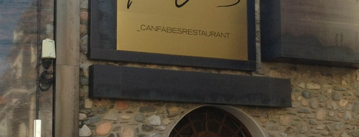 Can Fabes is one of Restaurantes destacables.