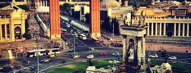 Plaça d'Espanya is one of Barcelona.