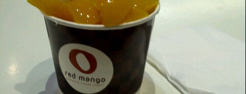 Red Mango is one of Favorite Food.