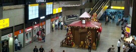Embarque Internacional is one of Aeroporto de Guarulhos (GRU Airport).