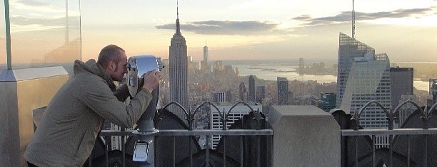 Top of the Rock Observation Deck is one of NYC Manhattan 14th-65th Sts & Central Park.