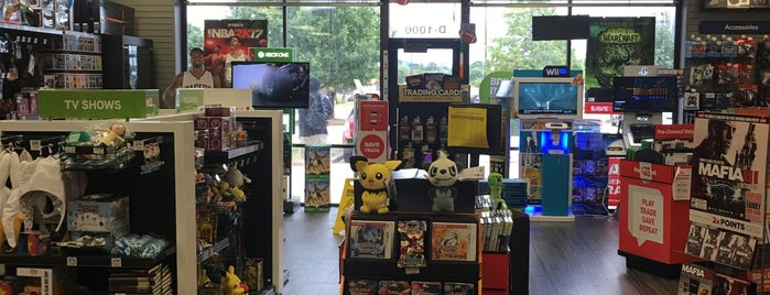 GameStop is one of The 11 Best Video Game Stores in Austin.