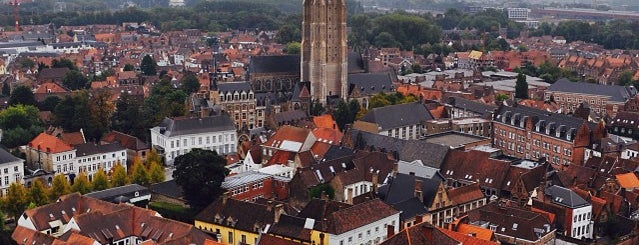 Beffroi is one of Belgium / World Heritage Sites.