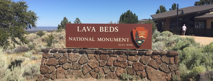 Lava Beds National Monument Campground is one of National Parks.