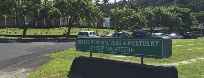 Nuuanu Memorial Park & Mortuary is one of Places I been to before in my life.
