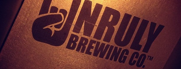 Unruly Brewing Company is one of Michigan Breweries.