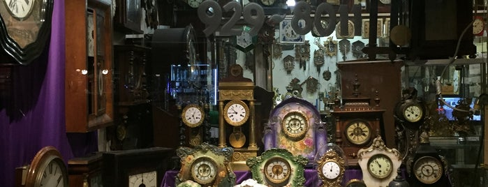 Time Pieces is one of Old Timey NYC.