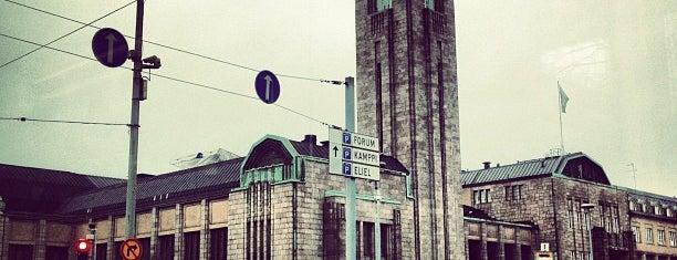 Железнодорожная площадь is one of Helsinki.