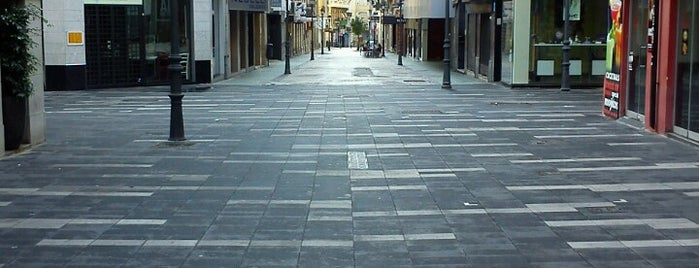 Calle Castaños is one of Alicante urban treasures.