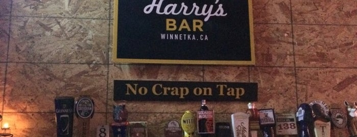 Crazy Harry's Bar is one of Stuff.