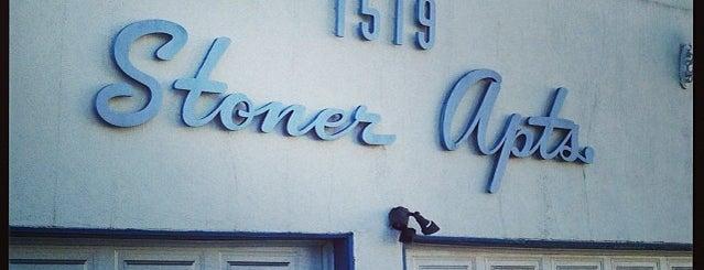 Stoner Apartments is one of Nikki Kreuzer's Offbeat L.A..