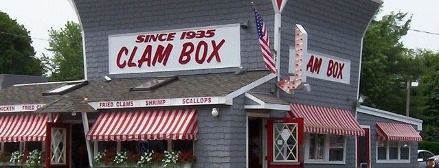 "The Clam Box is one of Follow the ""Dish""."