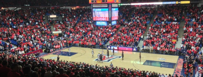 McKale Center is one of Basketball arena.