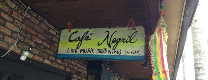 Cafe Negril is one of OffBeat's favorite New Orleans music venues.