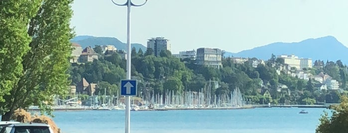 Thonon Plage is one of Beach.