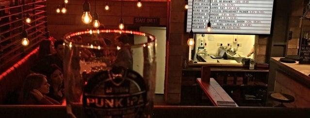BrewDog Clerkenwell is one of Frankie Friendly.
