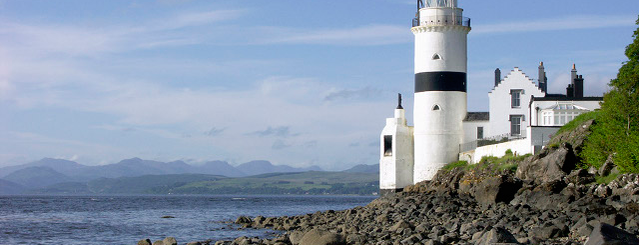 Cloch Lighthouse is one of Gourock, Greenock & Port Glasgow.