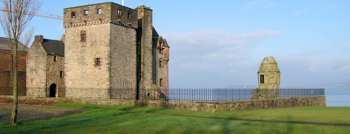 Newark Castle is one of Gourock, Greenock & Port Glasgow.