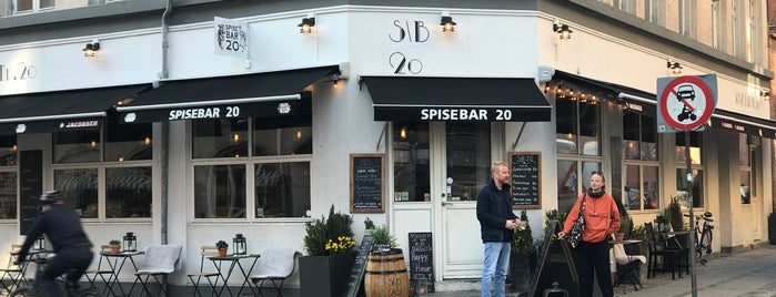 Spise\Bar no. 20 is one of Prosume Copenhagen.