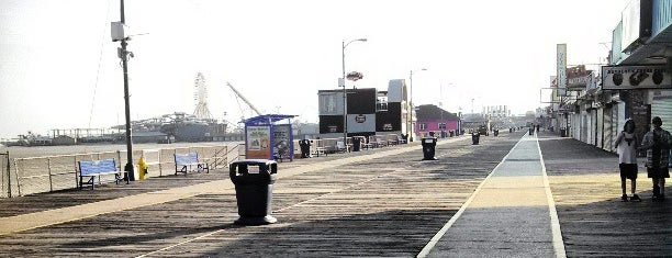 Wildwood Boardwalk is one of The 50 Most Popular Beaches in the U.S..