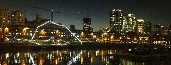Puerto Madero is one of mia.
