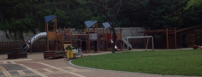 이화유치원 (Ewha Kindergarten) is one of 이화여자대학교 Ewha Womans University.