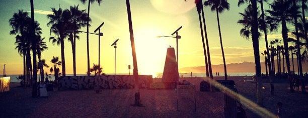 Venice Beach is one of LA.