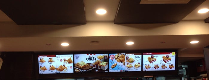 KFC is one of makan @ KL #16.